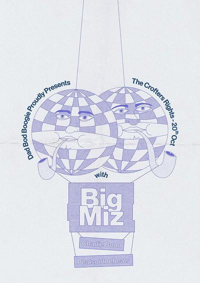 Dad Bod Boogie Presents: Big Miz at Crofters Rights in Bristol
