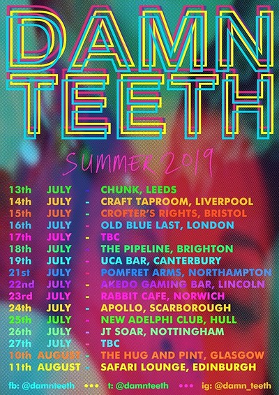 Damn Teeth + Support at Crofters Rights in Bristol