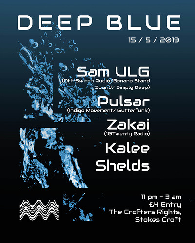 DEEP BLUE  at Crofters Rights in Bristol