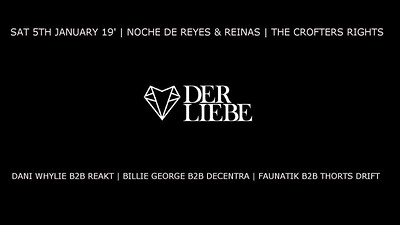 Der Liebe Presents: Noche de Reyes & Reinas at Crofters Rights in Bristol