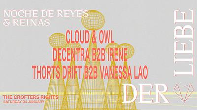 Der Liebe Presents: Noche de Reyes & Reinas  at Crofters Rights in Bristol