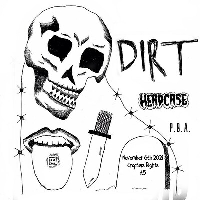 DIRT + Headcase + P.B.A. at Crofters Rights in Bristol