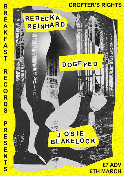 Dogeyed, Rebecka Reinhard & Josie Blakelock at Crofters Rights in Bristol