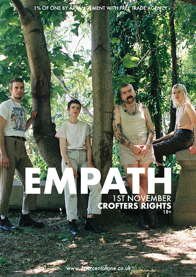Empath at Crofters Rights in Bristol
