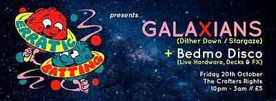 Erratic Batting Presents: Galaxians + Bedmo Disco at Crofters Rights in Bristol