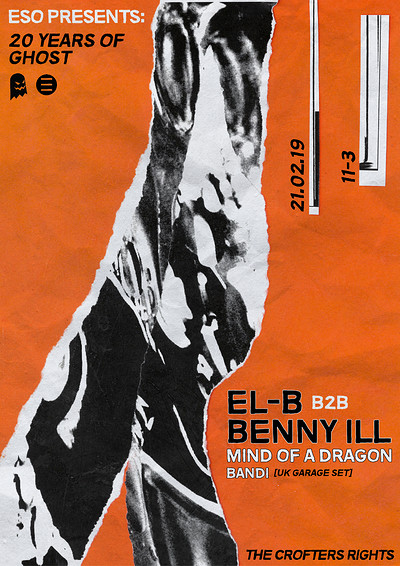 ESO Pres. 20 Years Of Ghost: El-B, Benny Ill, MOAD at Crofters Rights in Bristol