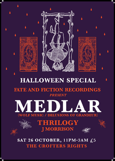 Fate & Fiction: Medlar (Wolf Music) at Crofters Rights in Bristol