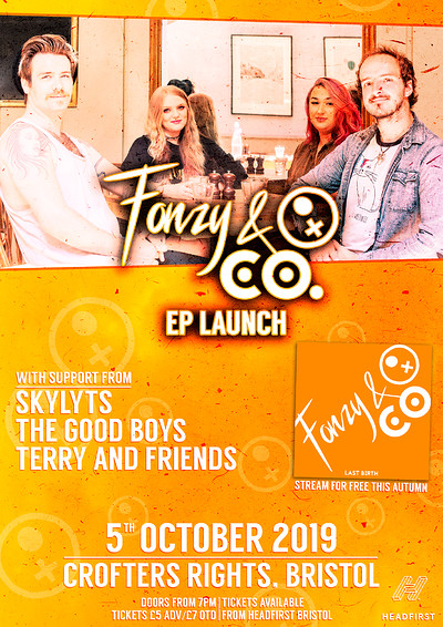 Fonzy & Company E.P Launch Show at Crofters Rights in Bristol