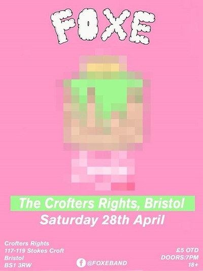 FOXE + Moon Club  at Crofters Rights in Bristol