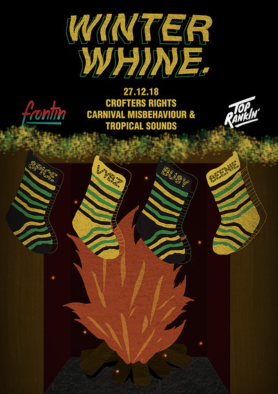 Frontin' x Top Rankin': Winter Whine 2.0 at Crofters Rights in Bristol