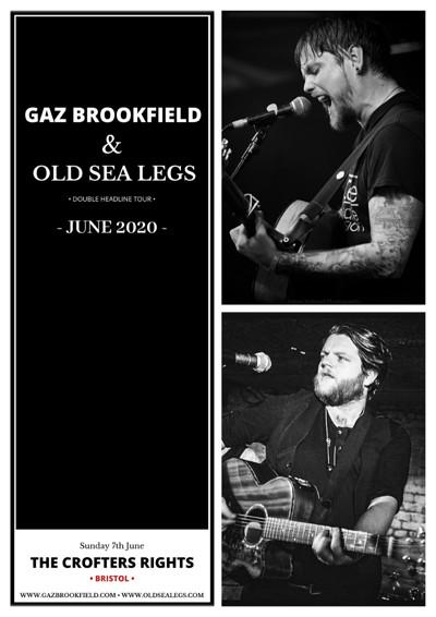 Gaz Brookfield & Old Sea Legs at Crofters Rights in Bristol