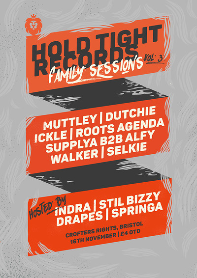 Hold Tight Records Family Sessions: Vol 3 at Crofters Rights in Bristol