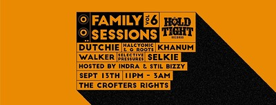 Hold Tight Records: Family Sessions Vol 6 at Crofters Rights in Bristol