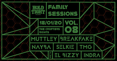 Hold Tight Records Family Sessions: Vol 8  at Crofters Rights in Bristol