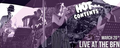 Hot Contents live at The BFN at Crofters Rights in Bristol