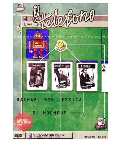 Il Telefono: Bristol Edition at Crofters Rights in Bristol