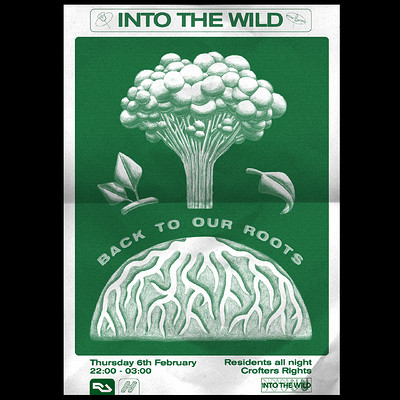 Into The Wild - Back To Our Roots at Crofters Rights in Bristol