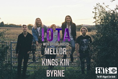 IOTA // Mellor // Kings Kin // BYRNE  at Crofters Rights in Bristol