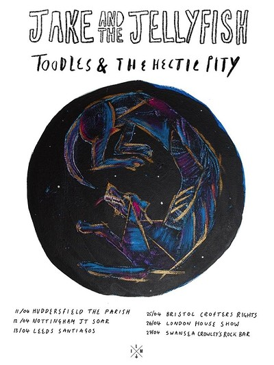 Jake & The Jellyfish + Toodles & The Hectic Pity at Crofters Rights in Bristol