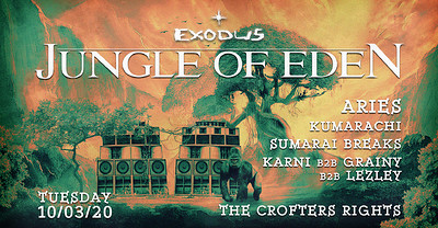 Jungle Of Eden at Crofters Rights in Bristol