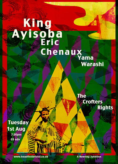 King Ayisoba / Eric Chenaux / Yama Warashi at Crofters Rights in Bristol