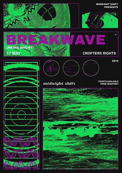 Midnight Shift w/ Breakwave (Meine Nacht) at Crofters Rights in Bristol