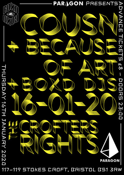 Paragon Presents: COUSN + Special Guests at Crofters Rights in Bristol