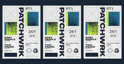 Patchwrk PT1: Easy People B2B Two Faced at Crofters Rights in Bristol