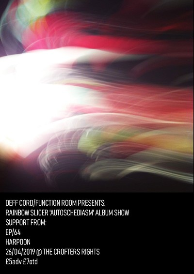 Rainbow Slicer Album Release Show at Crofters Rights in Bristol