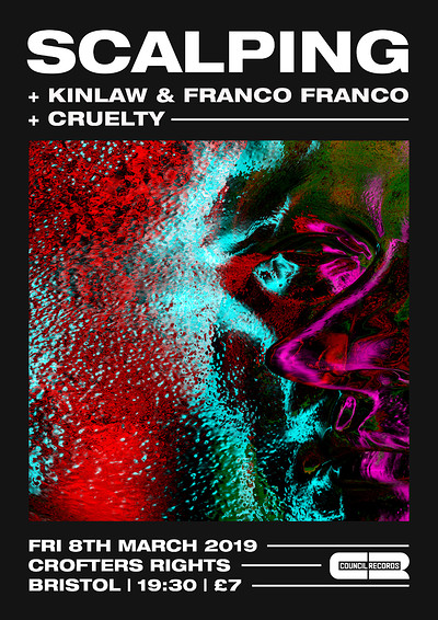 SCALPING plus Kinlaw & Franco Franco + Cruelty at Crofters Rights in Bristol