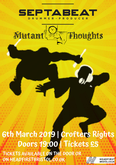Septabeat & Mutant-Thoughts at Crofters Rights in Bristol