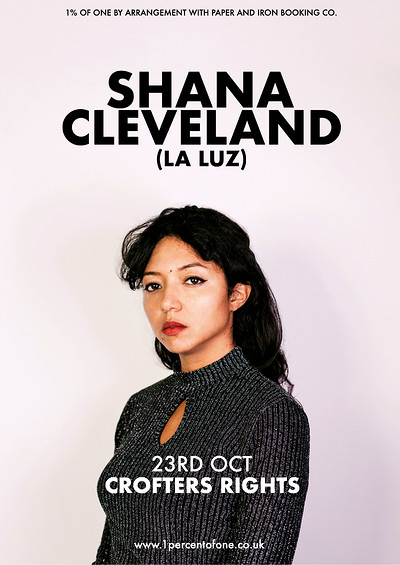 Shana Cleveland (La Luz) at Crofters Rights in Bristol