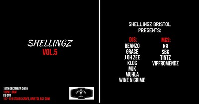 Shellingz Vol 5. at Crofters Rights in Bristol