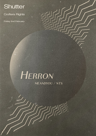 Shutter w/ Herron • The Crofters Right at Crofters Rights in Bristol