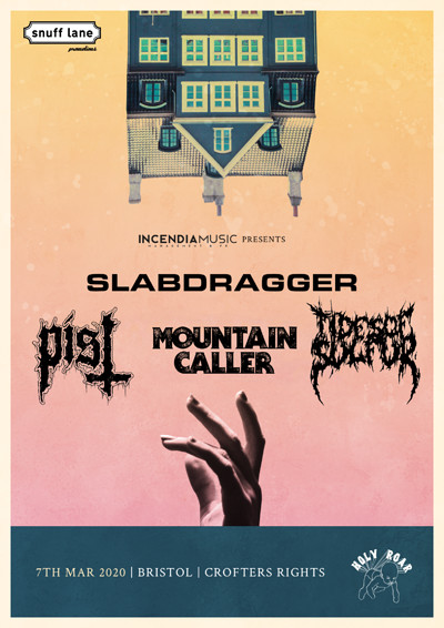 Sludge All-Dayer: Slabdragger // Pist // Many More at Crofters Rights in Bristol