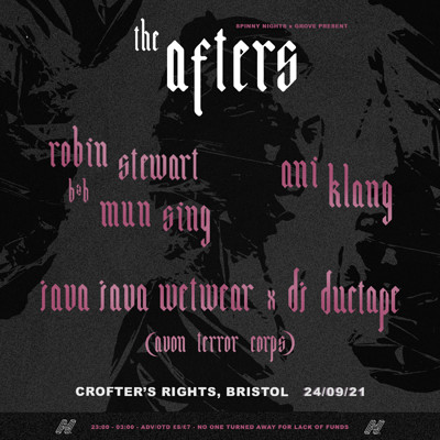 SNxGrove: Robin Stewart, Mun Sing, Ani Klang... at Crofters Rights in Bristol