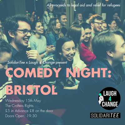 SolidariTee x Laugh 4 Change: Comedy Night at Crofters Rights in Bristol