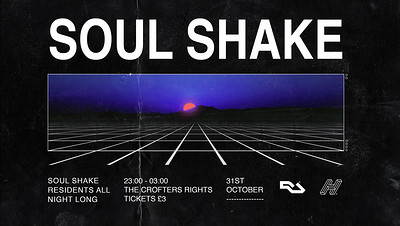 Soul Shake | Halloween Special  at Crofters Rights in Bristol