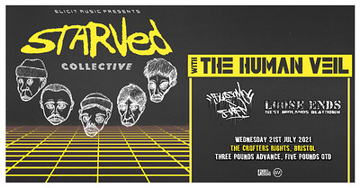 Starved & The Human Veil+ Supports at Crofters Rights in Bristol