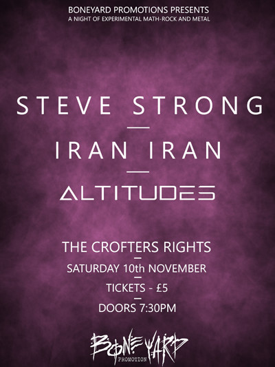 Steve Strong / Iran Iran / Altitudes at Crofters Rights in Bristol