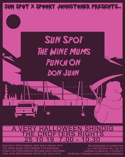 Sun Spot X Spooky Johnstoner Presents...A Very Hal at Crofters Rights in Bristol