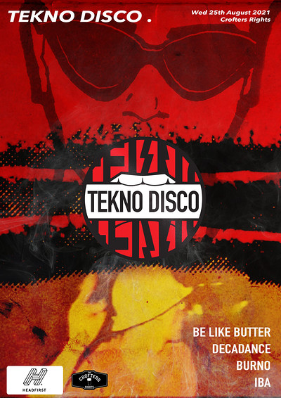 Tekno disco [welcome back party] at Crofters Rights in Bristol