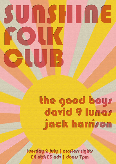 The Good Boys / David 9 Lunas / Jack Harrison at Crofters Rights in Bristol