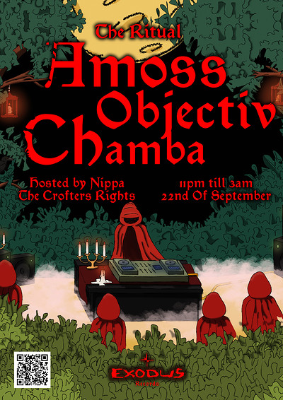 The Ritual - Amoss, Objectiv & Chamba at Crofters Rights in Bristol