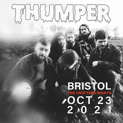 Thumper at Crofters Rights in Bristol