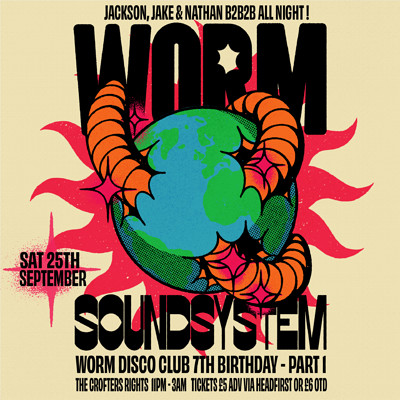 Worm Soundsystem (WDC 7th B'day Pt 1!) at Crofters Rights in Bristol