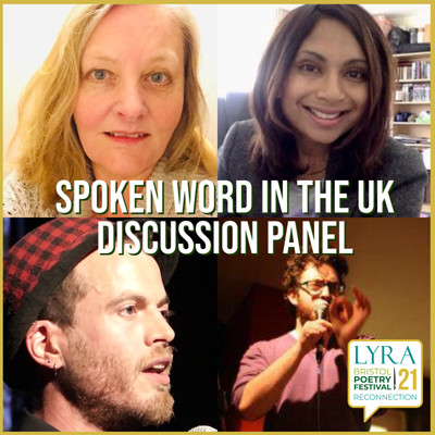Spoken Word in the UK: Discussion Panel at Crowdcast in Bristol
