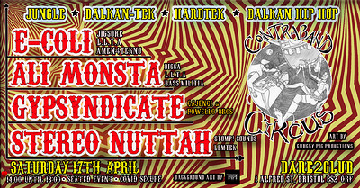 Contraband Circus (DJ Takeover!)  at Dare to Club in Bristol