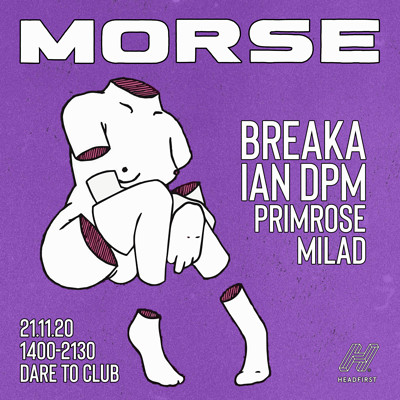 Morse: Breaka & Ian DPM at Dare to Club in Bristol