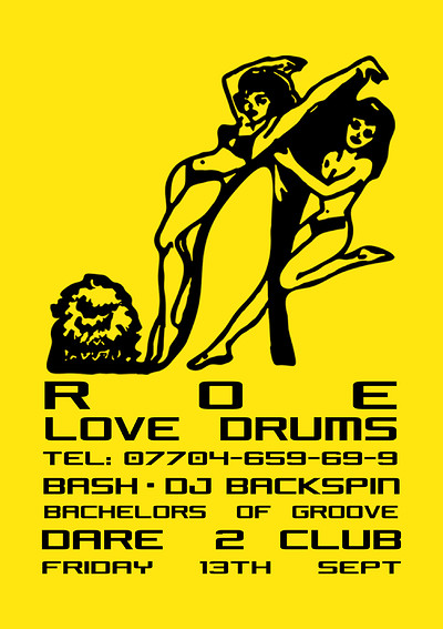 ROE X Love Drums W/ Bash & DJ Backspin at Dare to Club in Bristol